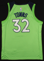Karl-Anthony Towns Signed Timberwolves Jersey (JSA COA) at PristineAuction.com