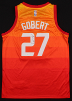 Rudy Gobert Signed Jazz Jersey (JSA COA) at PristineAuction.com