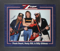 Billy Gibbons, Frank Lee Beard & Dusty Hill Signed ZZ Top 24x28 Photo (Beckett COA) at PristineAuction.com