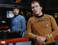 "William Shatner Signed ""Star Trek"" 11x14 Photo (JSA COA) at PristineAuction.com"