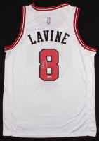 Zach LaVine Signed Bulls Jersey (PSA COA) at PristineAuction.com