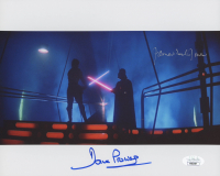 "Dave Prowse & James Earl Jones Signed ""Star Wars: Episode V – The Empire Strikes Back"" 8x10 Photo (JSA COA) at PristineAuction.com"