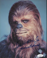 """Peter Mayhew Signed """"Star Wars"""" 8x10 Photo Inscribed """"Chewbacca"""" (JSA COA) at PristineAuction.com"""