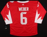 Shea Weber Signed Team Canada Jersey (PSA COA) at PristineAuction.com