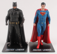 "Lot of (2) ""Justice League"" Kotobukiya Statue Set with Batman & Superman at PristineAuction.com"