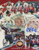 Patrick Roy Signed LE Avalanche 8x10 Photo (Mounted Memories COA) at PristineAuction.com