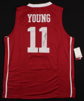 Trae Young Signed Oklahoma Sooners Jersey (JSA COA) at PristineAuction.com