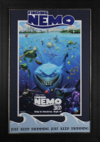 Finding Nemo 20x28 Custom Framed Poster Display at PristineAuction.com