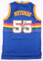 "Dikembe Mutombo Signed Nuggets Jersey Inscribed ""HOF 15"" (JSA COA) at PristineAuction.com"