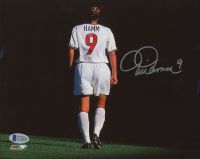Mia Hamm Signed Team USA 8x10 Photo (Beckett COA) at PristineAuction.com