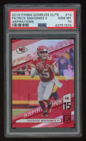 Patrick Mahomes II 2019 Elite Aspirations #14 (PSA 10) at PristineAuction.com