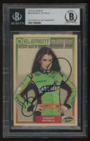 Danica Patrick Signed 2010 Element #59 (BGS Encapsulated) at PristineAuction.com