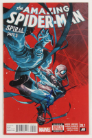 "Tom Holland Signed 2015 ""The Amazing Spider-Man: Spiral Part 5"" Issue #20.1 Marvel Comic Book (JSA COA) at PristineAuction.com"
