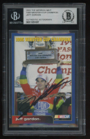 Jeff Gordon Signed 2003 The Merrick Mint / 1995 Winston Cup Champion (BGS Encapsulated) at PristineAuction.com