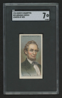 Abraham Lincoln 1924 Ogdens Leaders of Men #28 (SGC 7) at PristineAuction.com