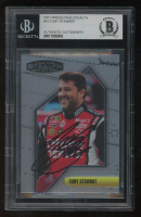 Tony Stewart Signed 2011 Press Pass Stealth #10 (BGS Encapsulated) at PristineAuction.com