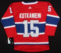 Jesperi Kotkaniemi Signed Canadiens Jersey (JSA COA) at PristineAuction.com