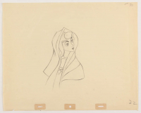 "1959 Walt Disney ""Sleeping Beauty"" 12.5x15.5 Animation Production Sketch at PristineAuction.com"