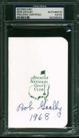 "Bob Goalby Signed Augusta National Golf Club Scorecard Inscribed ""1968"" (PSA Encapsulated) at PristineAuction.com"