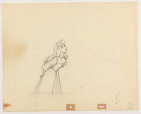 """1959 Walt Disney """"Sleeping Beauty"""" 12.5x15.5 Animation Production Sketch at PristineAuction.com"""
