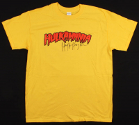 Hulk Hogan Signed Hulkamania Shirt (Schwartz COA) at PristineAuction.com