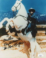 """Clayton Moore Signed """"Lone Ranger"""" 8x10 Photo Inscribed """"The Lone Ranger"""" (JSA COA) at PristineAuction.com"""