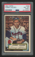 Tommy Holmes 1952 Topps #289 SP (PSA 8) (MC) at PristineAuction.com