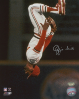Ozzie Smith Signed Cardinals 8x10 Photo (Schwartz COA) at PristineAuction.com