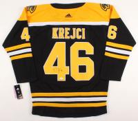 David Krejci Signed Bruins Jersey (JSA COA) at PristineAuction.com