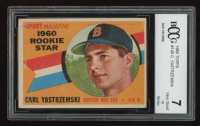 Carl Yastrzemski 1960 Topps #148 RS RC (BCCG 7) at PristineAuction.com