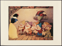 "Walt Disney ""Snow White & the Seven Dwarfs"" 9x12 1994 Special Edition Lithograph at PristineAuction.com"