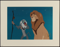 "Walt Disney ""The Lion King"" 11x14 1995 The Disney Store Exclusive Lithograph at PristineAuction.com"
