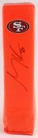 George Kittle Signed 49ers Logo Full-Size Pylon (JSA COA) at PristineAuction.com