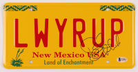 """Bob Odenkirk Signed """"Better Call Saul"""" New Mexico License Plate (Beckett COA) at PristineAuction.com"""