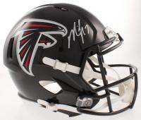 Michael Vick Signed Falcons Full-Size Speed Helmet (JSA COA) at PristineAuction.com
