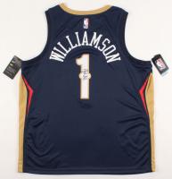 Zion Williamson Signed Pelicans Jersey (PSA COA) at PristineAuction.com