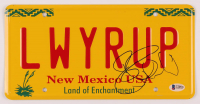 "Bob Odenkirk Signed ""Better Call Saul"" New Mexico License Plate (Beckett COA) at PristineAuction.com"