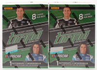 Lot Of (2) 2017 NASCAR Torque Racing Hobby Boxes of (8) Cards at PristineAuction.com