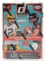 2017 Panini Donruss Football Blaster Box of (11) Packs at PristineAuction.com