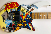 "Stan Lee Signed ""X-Men"" Electric Guitar (JSA COA & Lee Hologram) at PristineAuction.com"