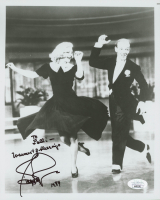 """Ginger Rogers Signed 8x10 Photo Inscribed """"1989"""" & """"Warmest Blessings"""" (JSA COA) at PristineAuction.com"""