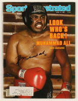 Muhammad Ali Signed 1980 Sports Illustrated Magazine Cover (JSA ALOA) at PristineAuction.com