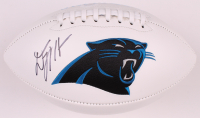 D. J. Moore Signed Panthers Logo Football (JSA COA) at PristineAuction.com