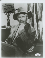 """Buddy Ebsen Signed 8x10 Photo Inscribed """"Best Wishes"""" (JSA COA) at PristineAuction.com"""