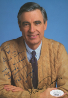 """Fred Rogers Signed 5x7 Photo Inscribed """"With Kindest Regards"""" & """"1991"""" (JSA COA) at PristineAuction.com"""
