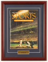Original First Issue Sports Illustrated Magazine 13.75x17.75 Custom Framed Display at PristineAuction.com