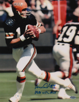 "Ken Anderson Signed Bengals 11x14 Photo Inscribed ""1981 NFL MVP"" (Playball Ink Hologram) at PristineAuction.com"