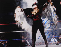 "Papa Shango Signed WWE 11x14 Photo Inscribed ""Beware of Voodoo"" (Playball Ink Hologram) at PristineAuction.com"