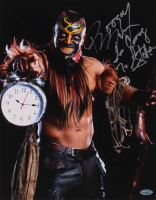 "The Boogeyman Signed WWE 11x14 Photo Inscribed ""I'm Coming To Getcha"" (Playball Ink Hologram) at PristineAuction.com"