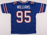 Kyle Williams Signed Jersey (Playball Ink Hologram) at PristineAuction.com